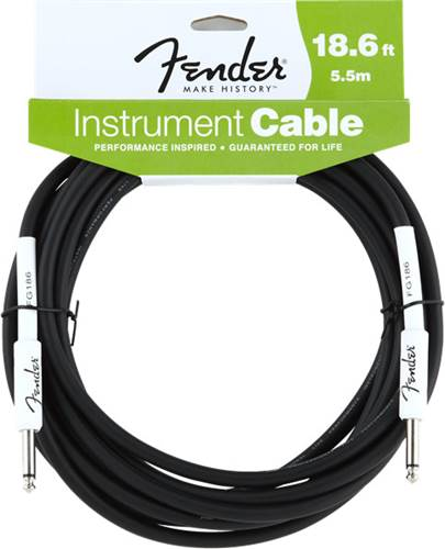 Fender 18.6ft/5.5m Instrument Performance Black