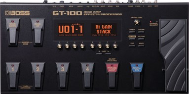 BOSS GT-100 Multi Effects