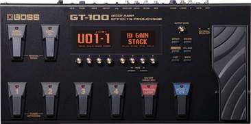 BOSS GT-100 Multi Effects