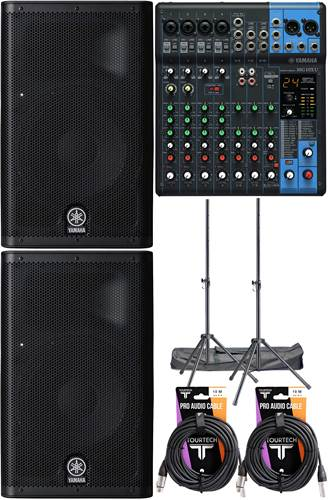 Yamaha DXR8-MG10XU Bundle
