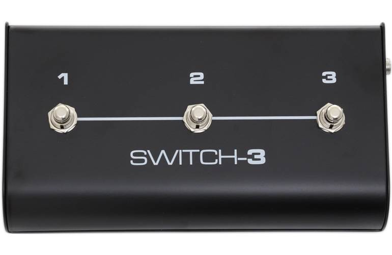 TC Helicon Switch 3 Three Button Footswitch