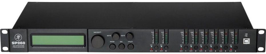 Mackie SP260 Loudspeaker System Processor (Ex-Demo) #SEL0111