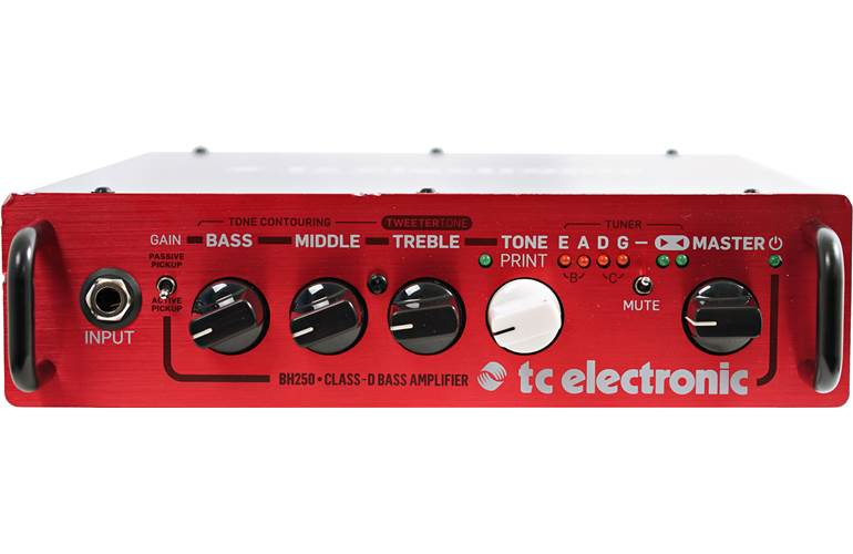 TC Electronic BH250 Bass Head (Ex-Demo) #S180901409BRP