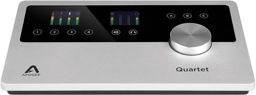 Apogee Quartet Audio Interface for iOS and Mac