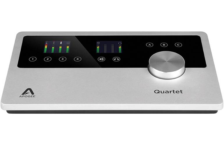 Apogee Quartet Audio Interface for iOS and Mac