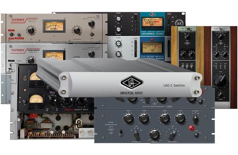 Universal Audio UAD2 Satellite Quad Custom FireWire
