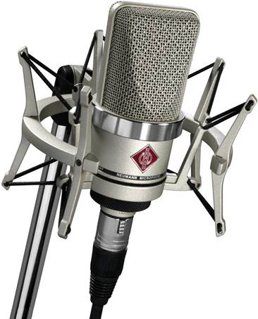 Neumann TLM-102 Nickel Studio Set Inc Shockmount