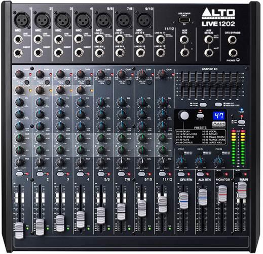 Alto Live 1202 Mixer