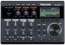 Tascam DP-006 Digital Recorder