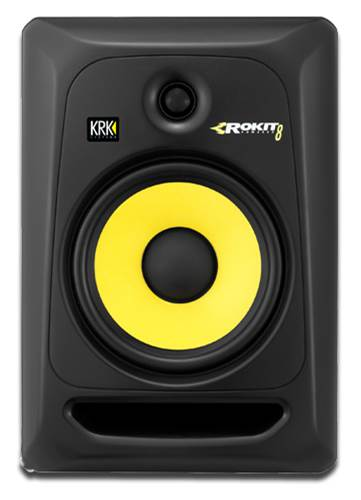 KrK Rokit RP8 G3 Active Studio Monitors (Single) (Ex-Demo) #HAS9010378