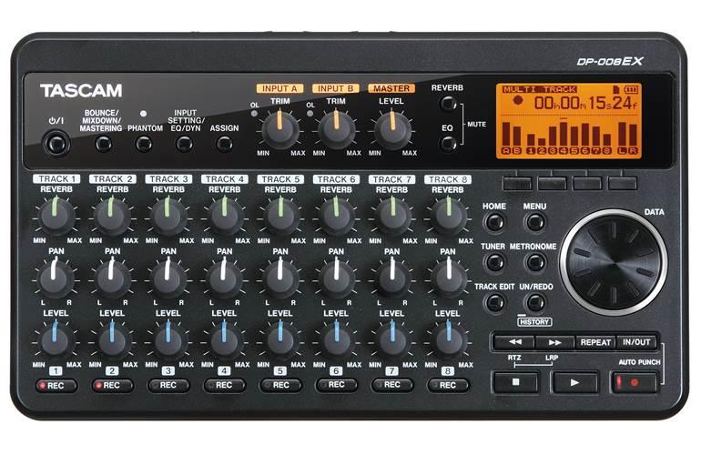 Tascam DP-008EX Digital Recorder