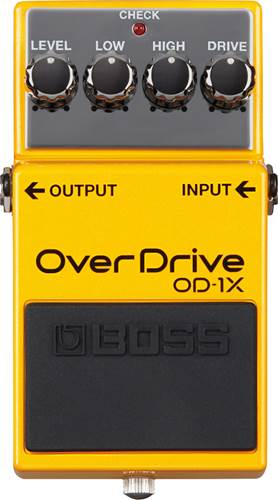 BOSS OD-1X Special Edition with Premium Tone Overdrive