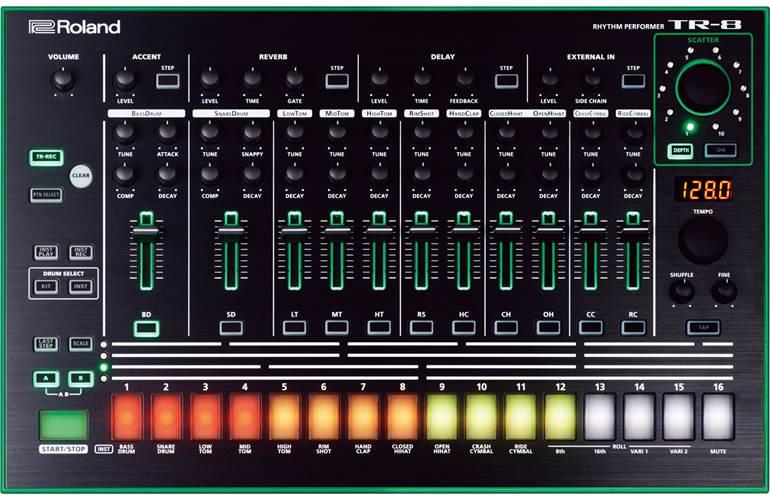 Drum Machine Tr8 : roland tr 8 drum machine tr8 ~ Russianpoet.info Haus und Dekorationen