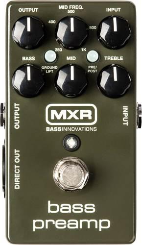 MXR M81 Bass Pre Amp
