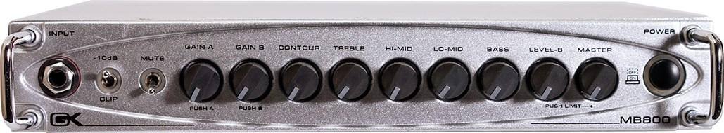Gallien Krueger MB-800 800 Watt Head Ultra Light (Ex-Demo) #GD1606A04103330