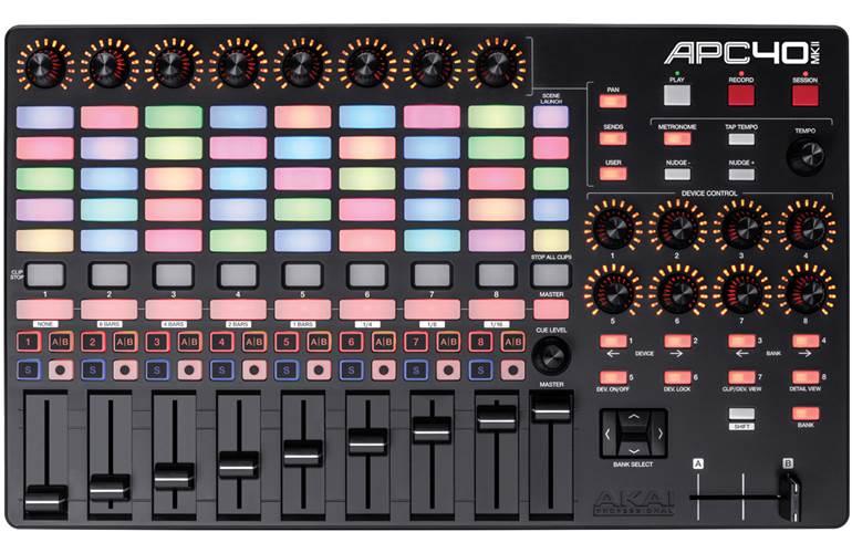 Akai APC40 MKII Midi Controller for Ableton Live