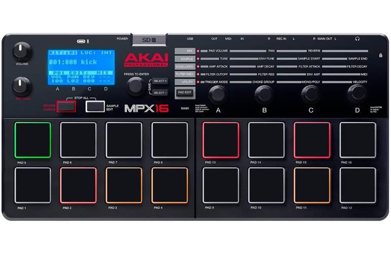 Akai Professional MPX16 Sampler