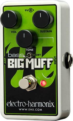 Electro Harmonix Nano Bass Big Muff PI Fuzz