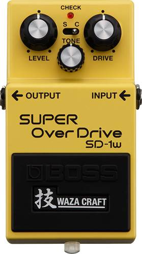 BOSS SD-1W Custom Waza Craft Super Overdrive