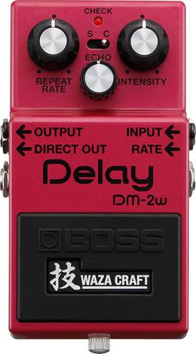 BOSS DM-2W Waza Craft Custom Analog Delay