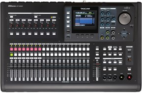 Tascam DP32SD Digital Multitrack Recorder