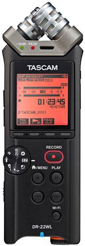 Tascam DR22-WL Handheld Recorder with Wifi