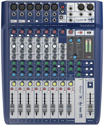 Soundcraft Signature 10 6 Mic I/P