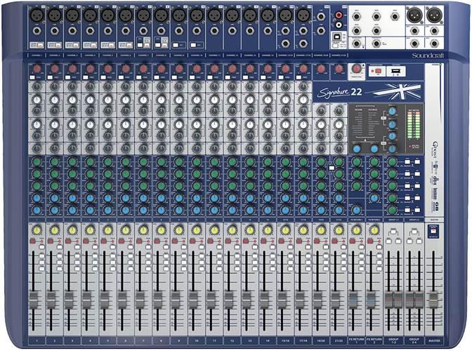 Soundcraft Signature 22 16 Mic I/P