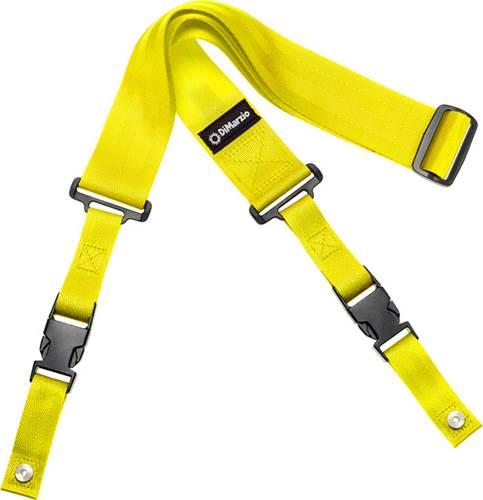 DiMarzio DD2200Y ClipLock Strap Nylon Neon Yellow