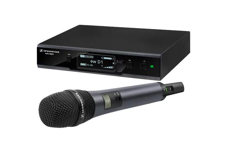 Sennheiser EW D1-835S Handheld Digital Wireless Microphone System