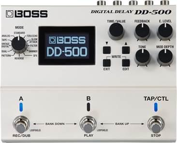 BOSS DD-500 Digital Delay Twin Pedal