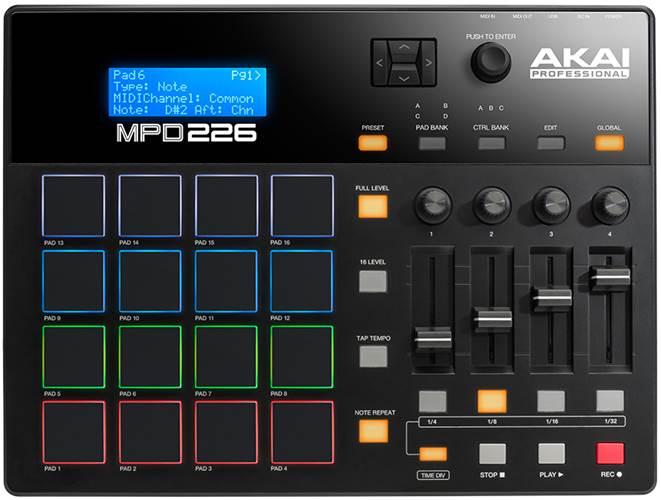 Akai MPD226 Pad Controller (Ex-Demo) #(21)A31808169515432