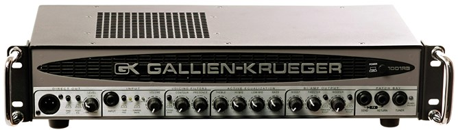 Gallien Krueger 1001 RB-II 700+50W Head