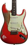 Fender Custom Shop Master Built by Dale Wilson 1961 Strat Heavy Relic Fiesta Red #CZ543786
