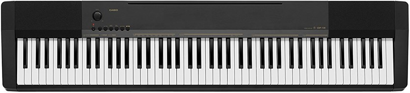 Casio CDP-130 Black Digital Piano
