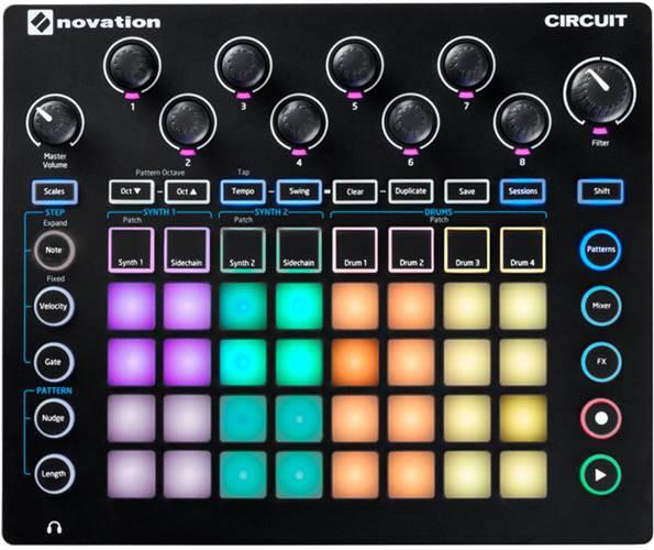 Novation Circuit Groove Box