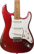 Fender Custom Shop 50's Strat Relic Candy Apple Red to Melon Candy Masterbuilt by Dale Wilson  #CZ543900