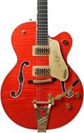 Gretsch G6120TFM Nashville Flame Maple Bigsby Orange Stain (Ex-Demo) #JT18052019