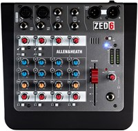 Allen & Heath ZED6 Mixer