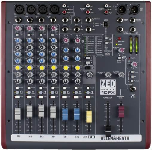 Allen & Heath ZED60-10FX Mixer