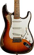 Fender Custom Shop 1958 Strat Heavy Relic Faded Chocolate 3TSB Thin Finish Master Built by Dale Wilson #CZ544887