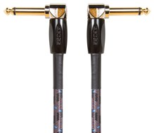 BOSS BIC-PC 6 inch / 15cm Instrument Cable, Angled/Angled 1/4 Inch Jack