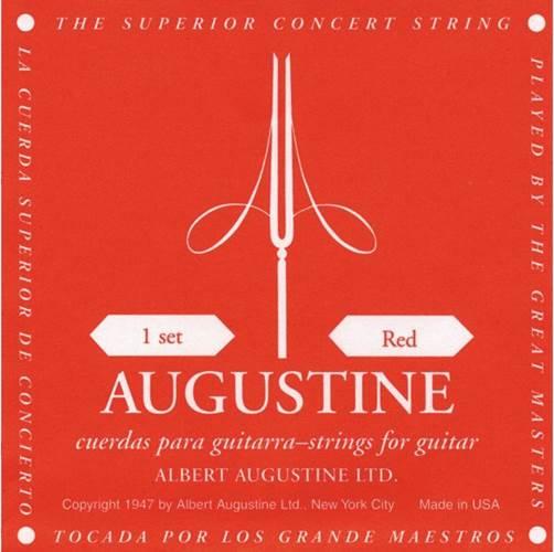 Augustine Red Set Medium Tension Classical Guitar Strings