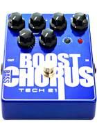 Tech 21 Bass Boost Chorus Metallic