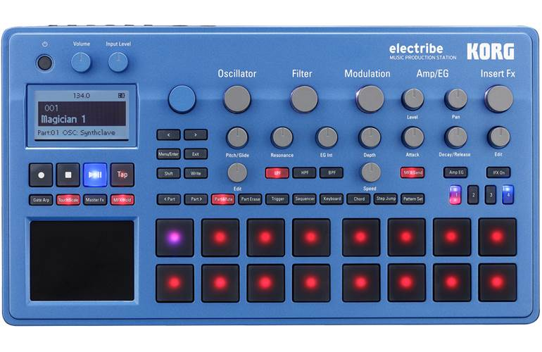 Korg Electribe EMX2-BL Blue Synth (Ex-Demo) #(21)00014559