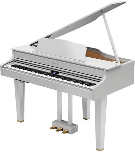 Roland GP607-PW Gloss White Digital Grand Piano