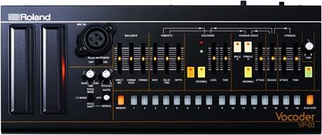 Roland VP-03 Boutique Vocoder (Ex-Demo) #Z9G2150