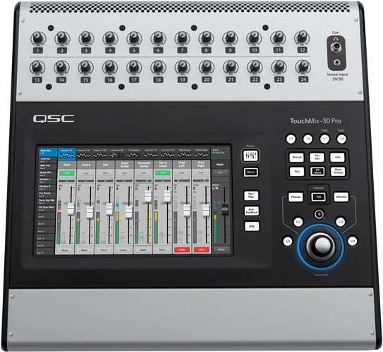 QSC Touchmix 30 Digital Mixer
