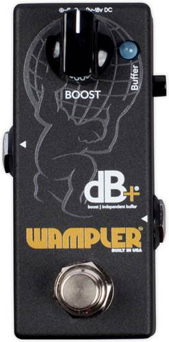 Wampler Db+ Boost/Independent Buffer Pedal