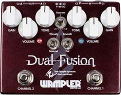 Wampler Dual Fusion Tom Quayle Signature Dual Overdrive Pedal (2016)